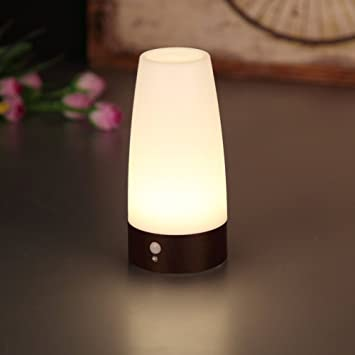 Amazon Com Kuantum Motion Sensor Night Light For Bedroom Bathroom