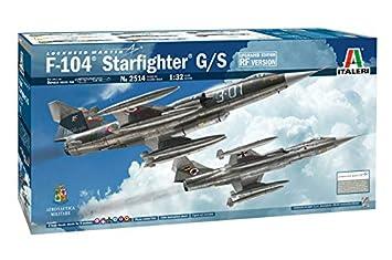 Italeri 2514S 2514S-1:32 F-104G/S-RF-104G - Maqueta de Caza ...
