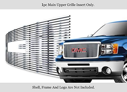 - APS Fits 2007-2013 GMC Sierra Denali 1500 Stainless Steel Chrome Billet Grille #G66474C