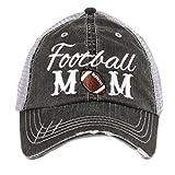 Football Mom Sports Women's Trucker Hat Cap by Katydid