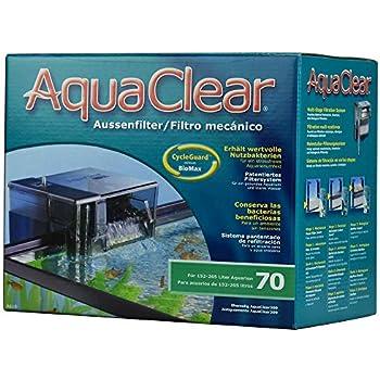 Aqua Clear - Fish Tank Filter - 40 to 70 Gallons - 110v