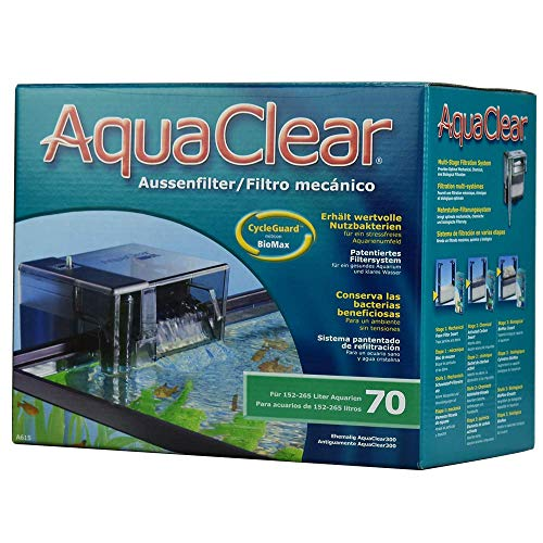 Aqua Clear - Fish Tank Filter - 40 to 70 Gallons - 110v (Best Filter For 55 Gallon Aquarium)