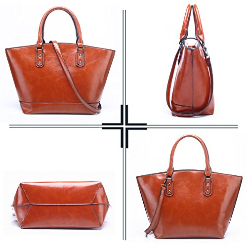 Pu Shoulder Leather Vintage Women Large Bags For Handbags Dark Crossbody Design Bag Red In Sdinaz Tote qt8gH