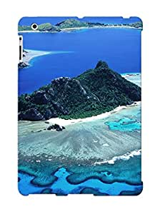 For Ipad 2/3/4 Protective Case, High Quality For Ipad 2/3/4 Mountains Sand Sea Islands Coral Reef Skin Case Cover
