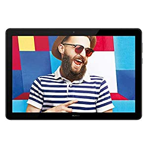 "HUAWEI MediaPad T5 – 10.1"" Android 8.0 Tablet, 1080P Full HD Display,  Kirin 695 Octa-Core Processor, RAM 3GB, ROM 32GB, Dual Stereo Speakers, 5100mAh Large Battery, Black"