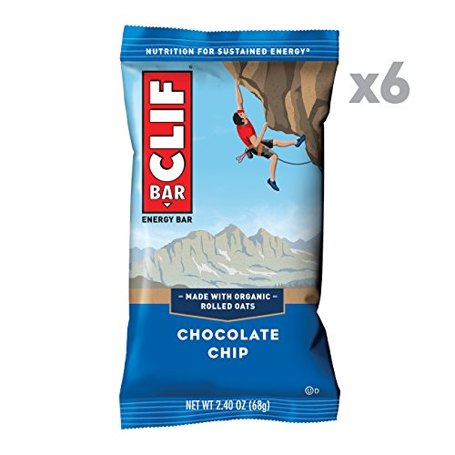 CLIF BAR - Energy Bar - Chocolate Chip - (2.4 Ounce Protein Bar, 6 - Chocolate Clif Coconut Bar Chip