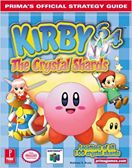 Kirby 64 The Crystal Shards Prima Official Strategy Guide