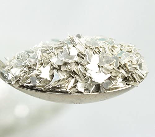 Silver Authentic Imported German Super Shard Glass Glitter Largest Grain Size SSG-Silver