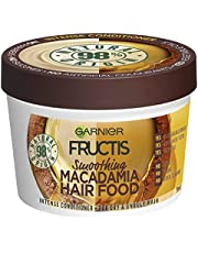 Garnier Fructis Hair Food Smoothing Macadamia For Dry & Unruly Hair 390ml