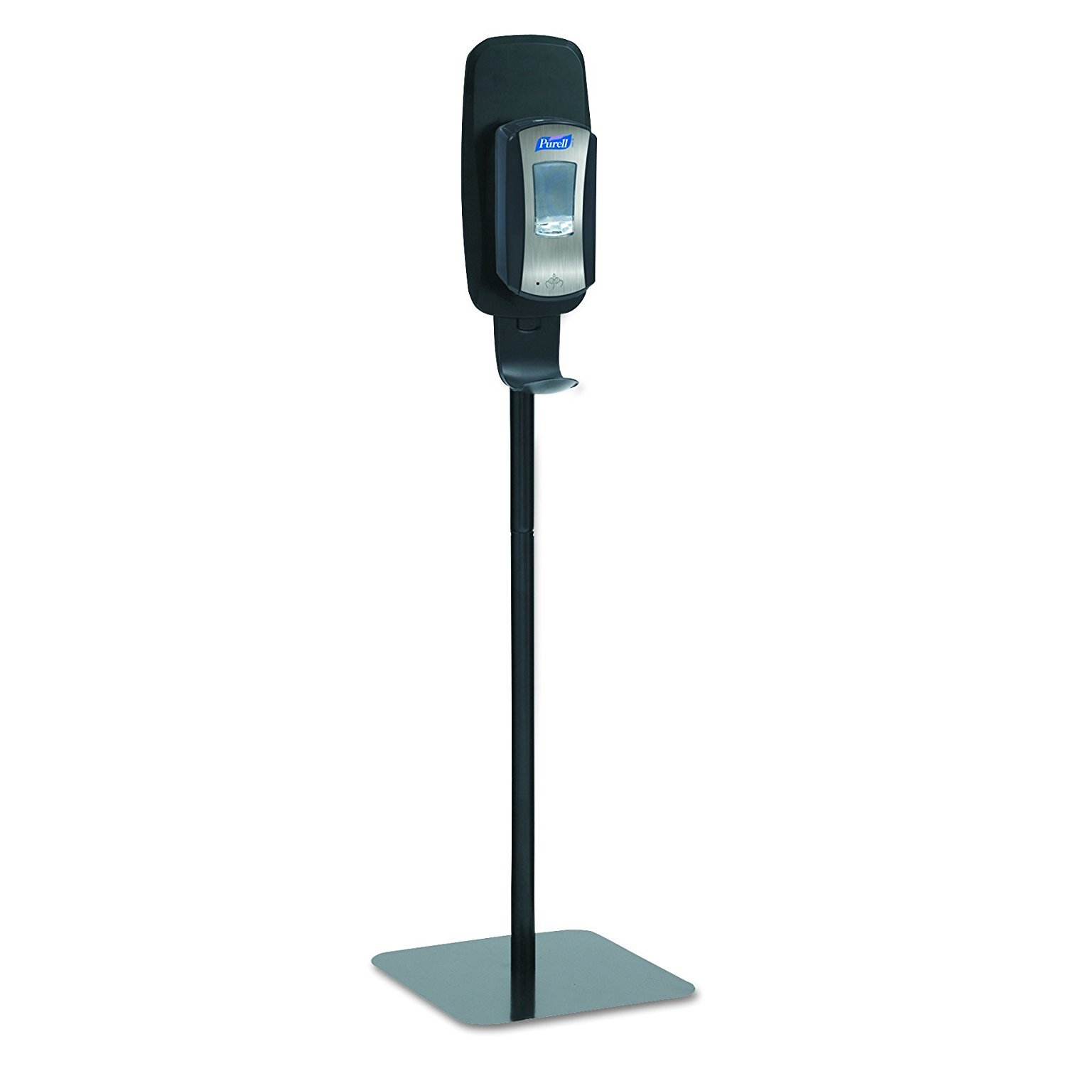 PURELL 2425-DS LTX or TFX Touch-Free Hand Sanitizer Dispenser Floor Stand, Black, 16 3/5w x 5 29/100d x 23 3/4h (Pack of 3)