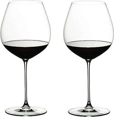 RIEDEL 6449/07 Veritas Old World Pinot Noir (Estuche de 2 Copas): Amazon.es: Hogar