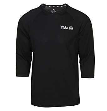 0726ad59 Nike SB Mens Dri-Fit 3/4 Sleeve GFX Crew Shirt Black at Amazon Men's  Clothing store: