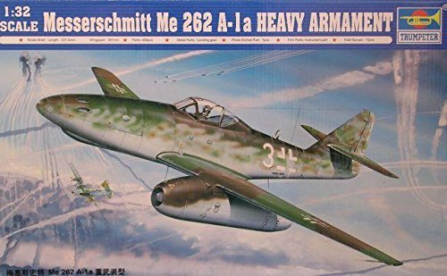 Used, Trumpeter 02260 Me262 A-1a Heavy Armament 1:32 Plastic for sale  Delivered anywhere in USA