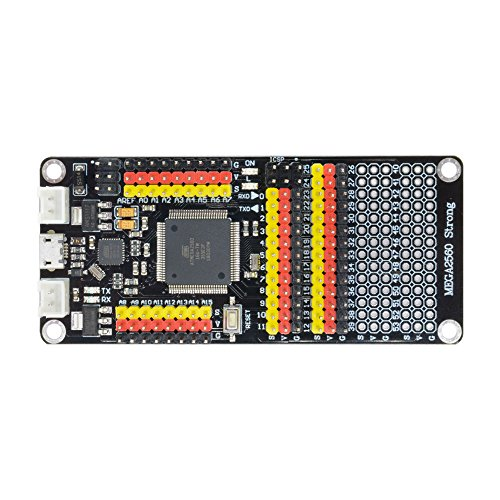 Aideepen Mega 2560 Development Board ATmega2560 ATmega 16U2 Microcontroller DM Strong Shield Compatible with Arduino MEGA 2560 by Aideepen
