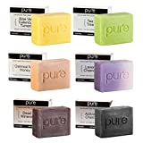 #10: Essential Oil Handmade Soap Bar. Artisan Soap Bars Gifts for Men & Women! Cold Process Soap Bars in Luxury Gift Box! (Handmade Goatmilk Soap Bars Holiday Gift)
