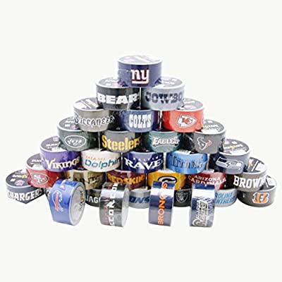 Duck Brand 1.88-Inch by 10-Yard NFL Team Logo Duck Tape from ShurTech Brands, LLC