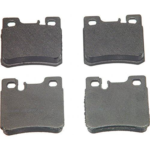 Price comparison product image Wagner ThermoQuiet MX495 Semi-Metallic Disc Pad Set,  Rear