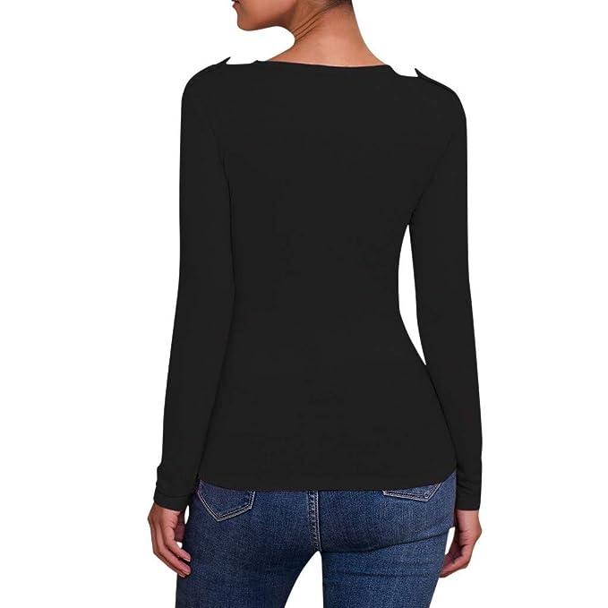 Amazon.com: Aniywn - Camiseta de manga larga para mujer ...