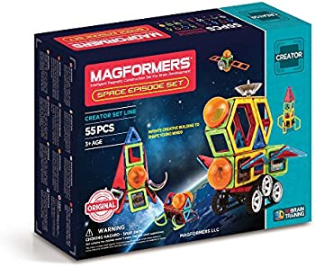 Magformers 55-Pc. Space Episode Set