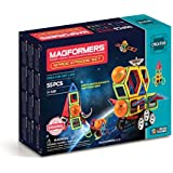 Magformers Space Episode Set (55 Piece) Magnetic Building Blocks, Educational Magnetic Tiles Kit, Magnetic Construction STEM Set