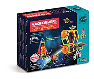 Magformers Space Episode Set, 55 Piece