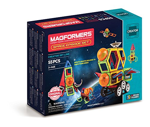 Magformers Space Episode 55...