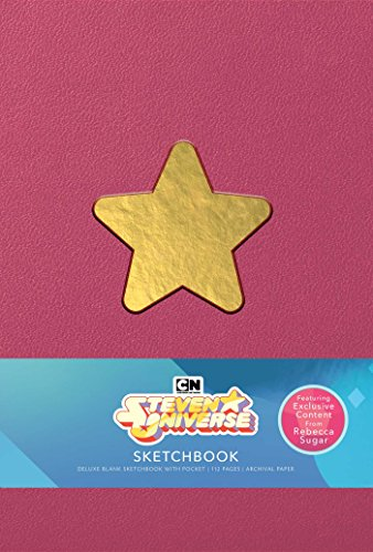 Steven Universe Deluxe Hardcover Blank Sketchbook Rebecca Sugar Edition [Insight Editions] (Tapa Dura)