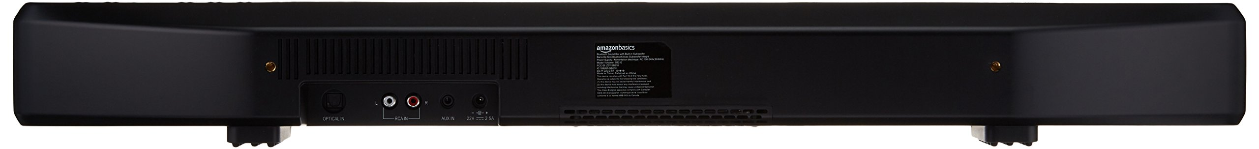 AmazonBasics 2.1 Channel Bluetooth Sound Bar with Built-In Subwoofer by AmazonBasics (Image #3)