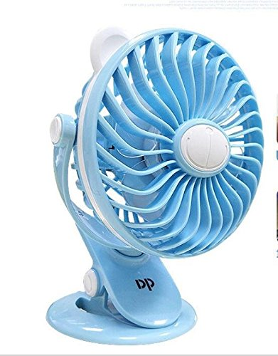 Amazon com: Leegoal USB Mini-Clip Fan, Strong Airflow, Lower