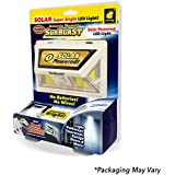 Atomic Beam SunBlast by BulbHead Original Solar Powered LED Motion Activated Security Light by BulbHead, Industrial Strength Adhesive for Easy Installation (Atomic Beam SunBlast 1 Pack)