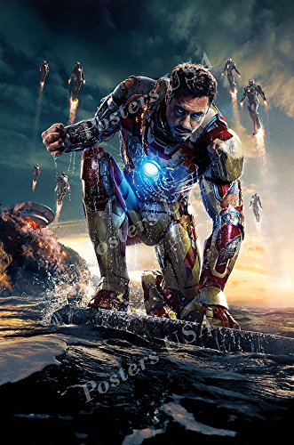 Posters USA - Marvel Iron Man 3 Textless Movie Poster GLOSSY FINISH - FIL292 (24