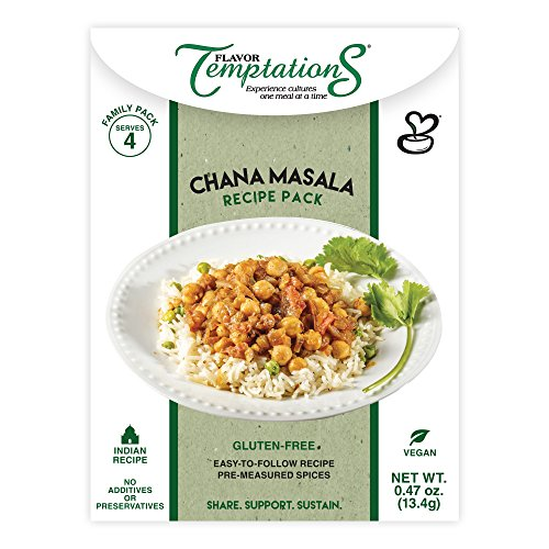 Flavor Temptations Chana Masala Recipe Kit, Set of 2