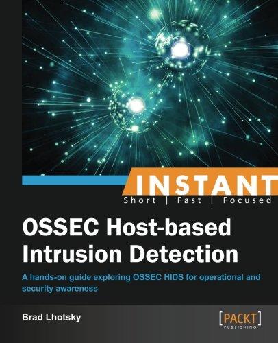 Instant OSSEC Host-based Intrusion Detection System