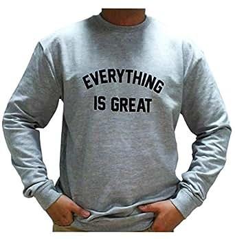 Fabienne Ash Round Neck Hoodie & Sweatshirt For Men