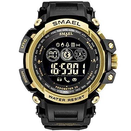 Amazon.com : XBKPLO Mens Smart Watch Bluetooth LCD ...