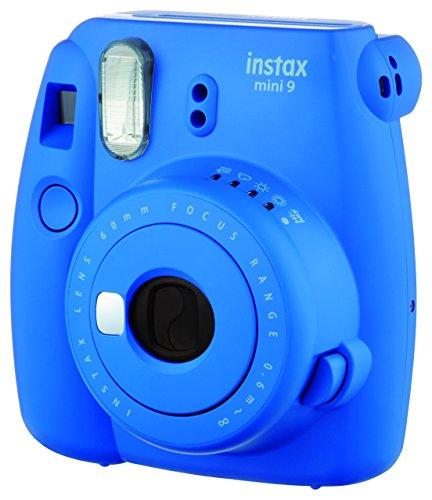 cc999e6f42 Fujifilm Instax Mini 9 - Cámara instantánea, Solo cámara, Azul Marino:  Amazon.es: Electrónica