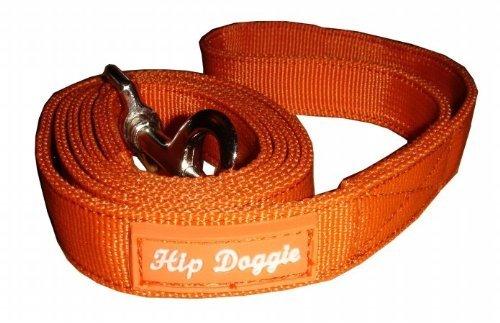 Hip Doggie HD 6PMHOR Dog Leash, Orange