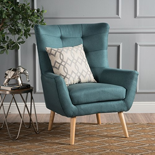 Christopher Knight Home 300788 Tamsin Arm Chair, Dark Teal