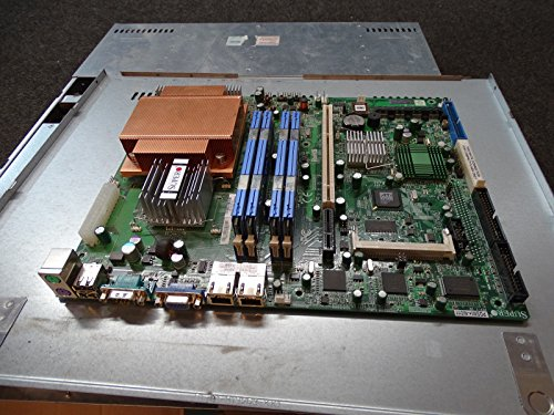 Super Micro PDSMI+ Motherboard Combo 2.4Ghz Core2 4gb