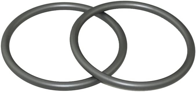 Topind 2.5 Large Size Alumnium Baby Sling Rings for Baby Carriers /& Slings of 2 pcs (grey
