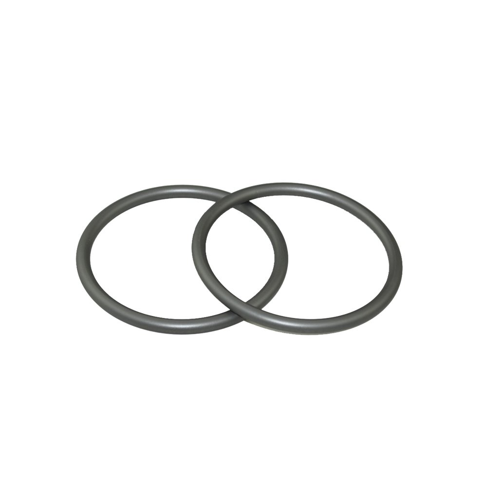 Topind 3'' Large Size Aluminium Baby Sling Rings for Baby Carriers & Slings of 2 pcs (Grey)