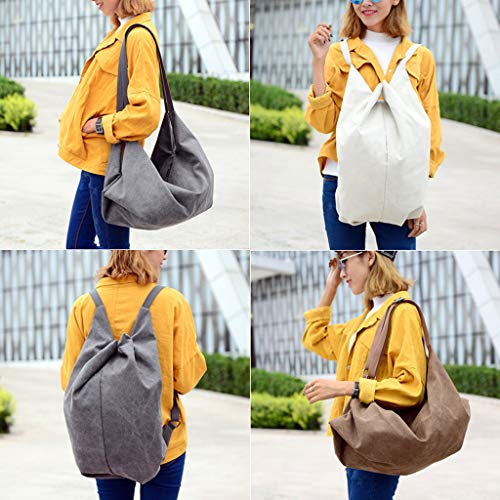Canvas a Ladies Borse Brown Casual CHENGYI Fashion Bag Tracolla Borsa Messenger Multifunzione Satchel Crossbody aFzx1wBqC