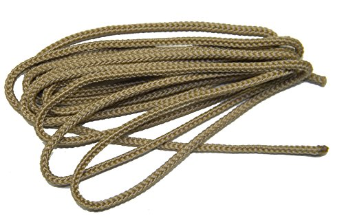 72 Inch Desert Tan Nylon Speedlace for Tactical Combat Boot Laces Shoelaces USMC (2 Pair Pack)