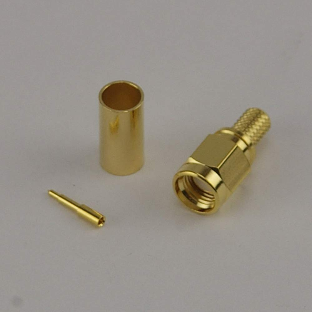 Wifi- Antennas SMA Male Crimp Connector - CLF200 Wifi-Antennas