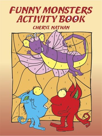 Funny Monsters Activity Book ebook
