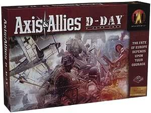 Avalon 4098338 Axis & Allies D-Day - Juego de Mesa [Importado de ...