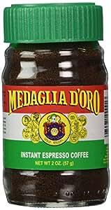 Medaglia D'Oro Instant Espresso Coffee, 2 Oz