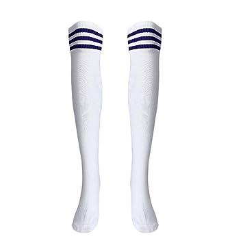 Calcetines Largos de compresión para Hombres Transpirables Cálidos ...