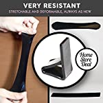 Nano Multi Purpose Gel Pad Sticks to Any Flat Surface. Stick Anything, Anywhere, Cell Phone Stand / Holder for Smartphone, iPad, iPhone, Samsung Galaxy, LG and Mobile Devices – Great sticky anti slip