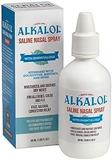 Amazon com: Alkalol - A Natural Soothing Nasal Wash, Mucus